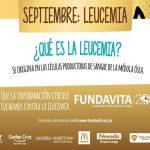 SEPTIEMBRE: Leucemias Infantiles