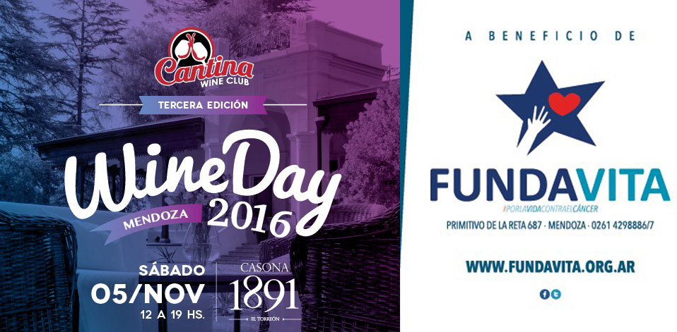 Vuelve el WineDay a beneficio de Fundavita