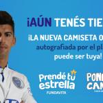 Ganá una camiseta oficial de Godoy Cruz Antonio Tomba autografiada por los jugadores
