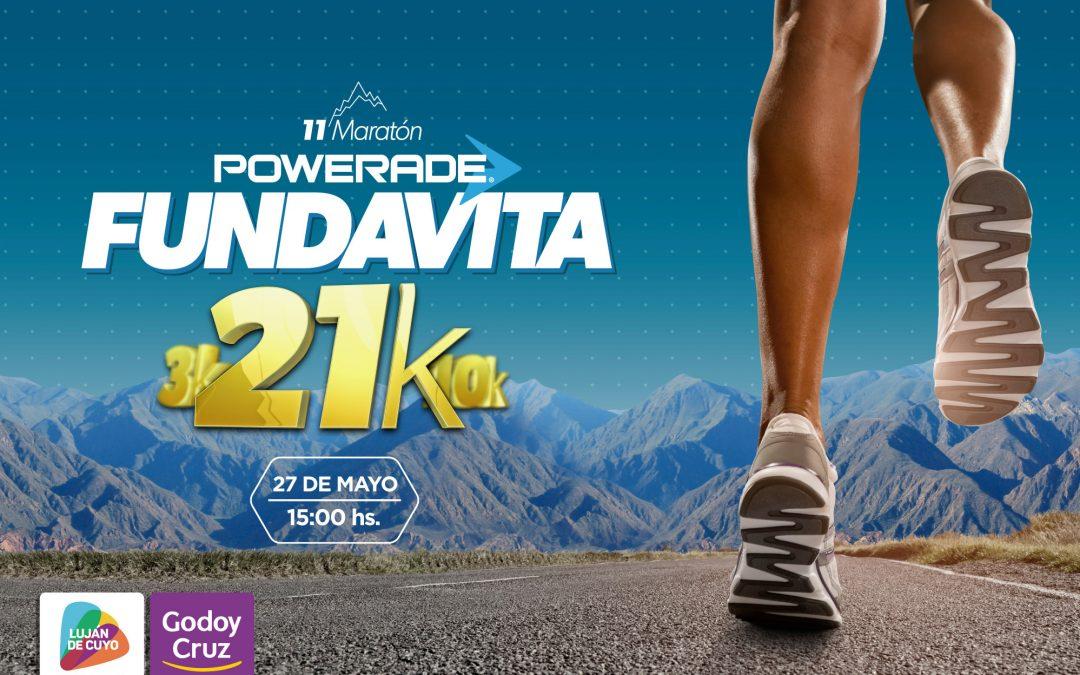 11a Maratón FUNDAVITA – 21K / 10K / 3K – 27 de mayo.