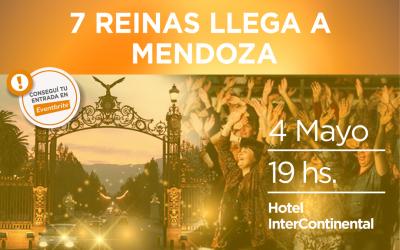 Movimiento 7 Reinas llega a Mendoza