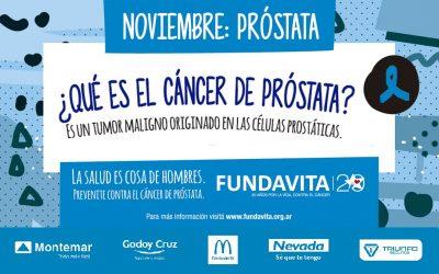 NOVIEMBRE: Cáncer de Próstata