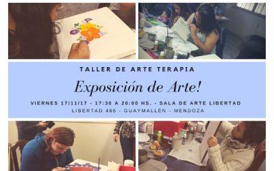 Exposición de Arte Taller de Arte Terapia