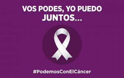 #PodemosConElCancer – actividades entorno al Día Mundial Contra el Cáncer