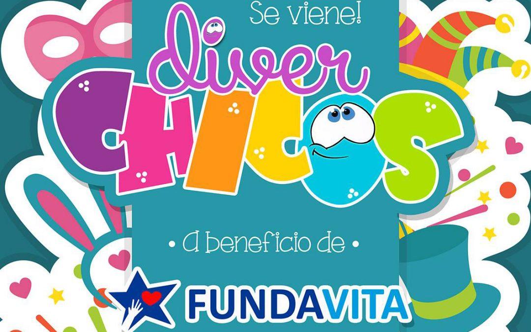 """""""Diverchicos"""" ayuda a Fundavita en las vacaciones de invierno."""