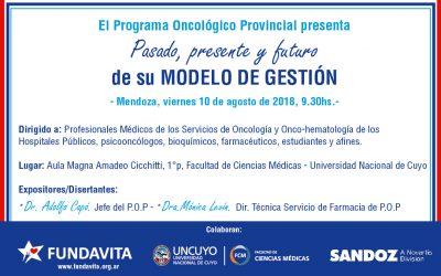 Presentación Modelo de gestión del Programa Oncológico Provincial
