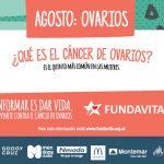 AGOSTO: Cáncer de Ovarios