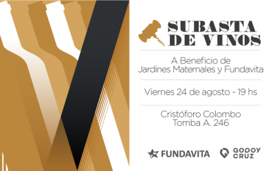 3ra Edición Subasta Solidaria de Vinos en Godoy Cruz