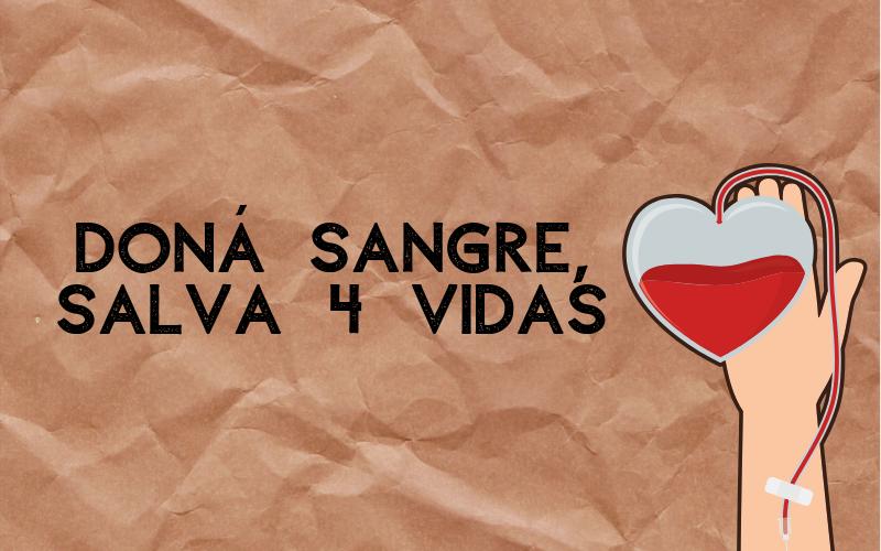 14 de junio: donar sangre para salvar vidas