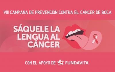 FUNDAVITA se suma a la VIII Campaña de prevención contra el cáncer de boca