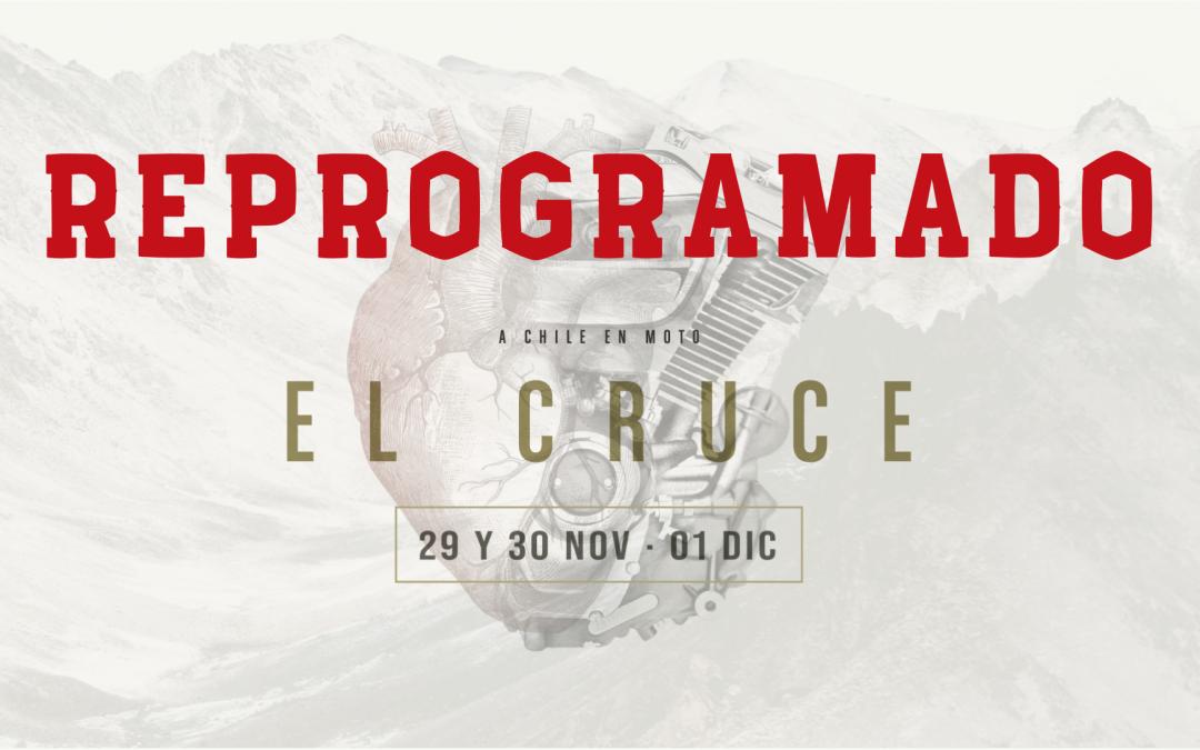 REPROGRAMADO: El Cruce a Chile en moto