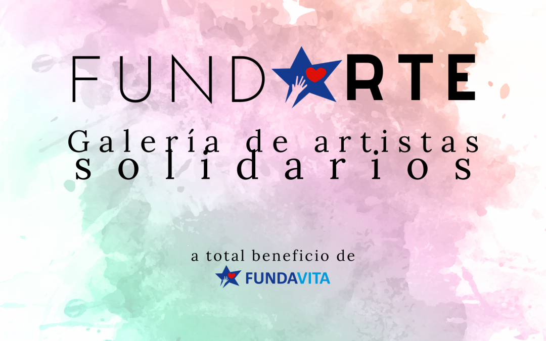 FundArte: la galería virtual de arte solidario de Fundavita
