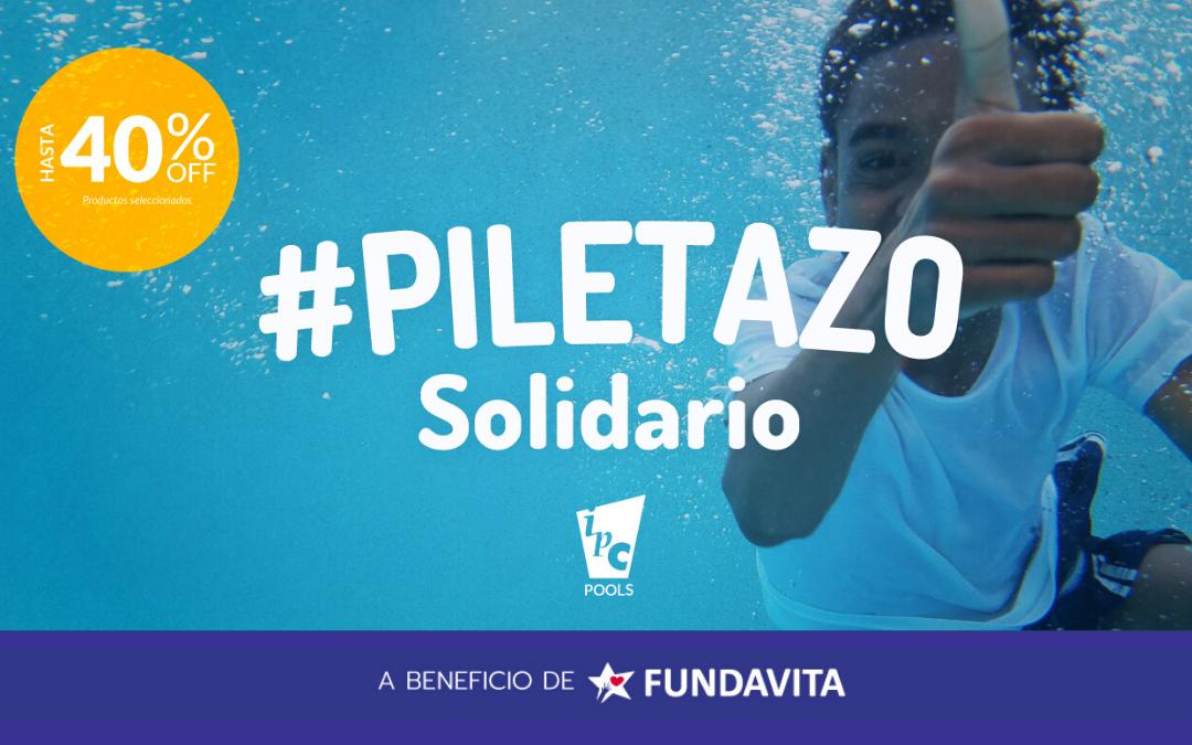"""""""Piletazo Solidario"""": Piscinas IPC realiza una acción a beneficio de Fundavita"""