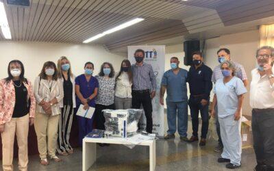 Donación al Hospital Humberto Notti: el área de Biología Molecular tiene un nuevo y sofisticado microscopio